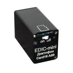 Цифровой скрытый мини диктофон с записью на карту памяти Edic-mini Card 16 A99M