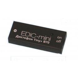 Цифровой скрытый мини диктофон для записи разговоров Edic-mini Tiny + B70