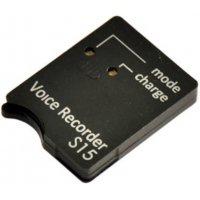Цифровой скрытый мини диктофон с активацией голосом Сорока 15