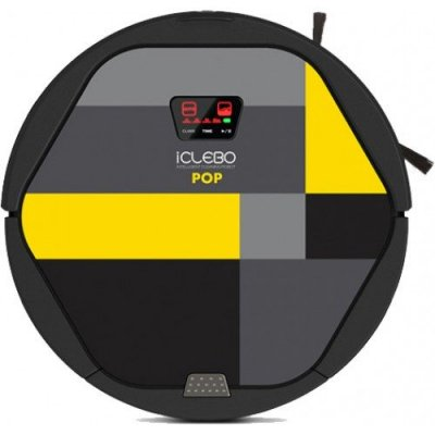 Робот-пылесос для сухой и влажной уборки iClebo Pop Lemon