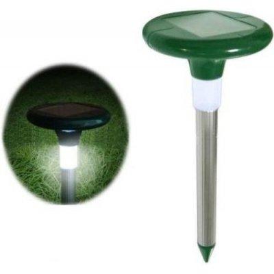 Отпугиватель кротов и насекомых с солнечной батареей SITITEK Гром-Профи LED+