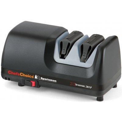 Профессиональная 2-х этапная электрическая ножеточка Chefs Choice CC317
