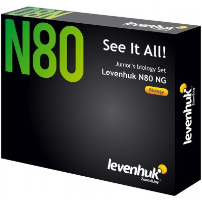 Набор микропрепаратов  Levenhuk (Левенгук) N80 NG Увидеть все!
