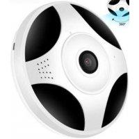 Панорамная IP Wi-Fi камера 2Mp для дома с двухсторонним аудио и записью Fisheye 360 mini