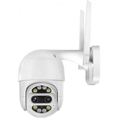 Купольная поворотная Wi-Fi IP камера с записью и видеоаналитикой HDcom 128SWV-2