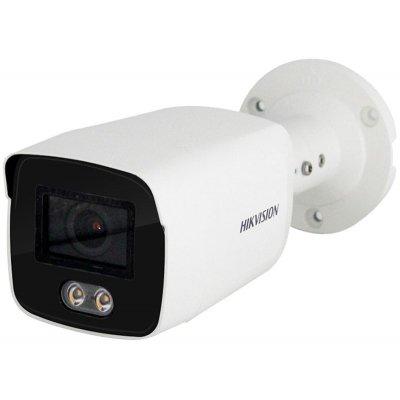 Уличная IP POE камера с LED подсветкой ColorVu и записью на карту HIKVISION DS-2CD2027G2-LU 2.8mm