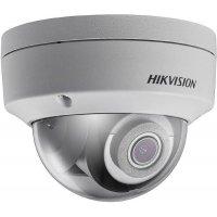 Купольная IP POE камера 2Mp для улицы и помещений HIKVISION DS-2CD2123G0-IS 2.8mm