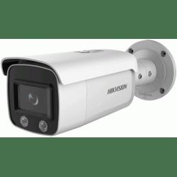 Уличная IP POE камера 4Mp с LED подсветкой ColorVu и видеоаналитикой HIKVISION DS-2CD2T47G2-L
