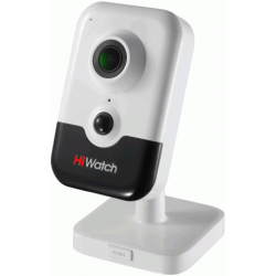 Внутренняя IP POE камера с записью на карту памяти HiWatch DS-I214(B)