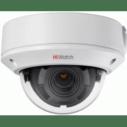 Купольная IP POE камера 4Mp с записью на карту памяти HiWatch DS-I458 (2.8-12 mm)