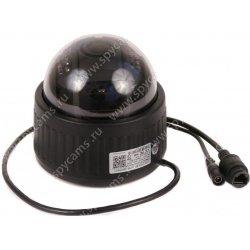 Купольная поворотная Wi-Fi IP камера Link-D73W-8G с записью на карту памяти