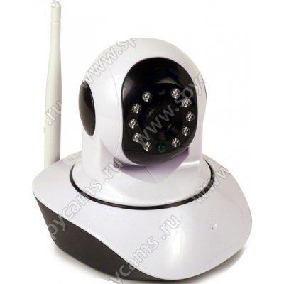 Поворотная IP Wi-Fi камера для дома с датчиком температуры и влажности Link-HR06-8G