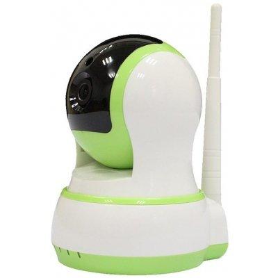 Внутренняя поворотная IP Wi-Fi камера со звуком и записью на карту памяти Link-HR02
