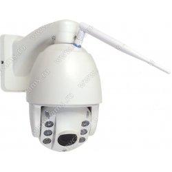 Уличная купольная поворотная 4G IP камера c 5х зумом и записью на карту памяти Link NC67G-8G