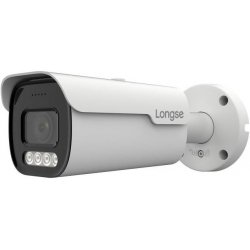 Уличная IP POE камера с LED подсветкой и записью на карту Longse FullColor BML500WH 2.8mm