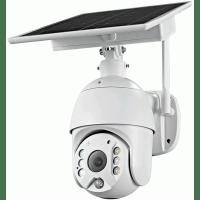 Поворотная автономная уличная IP WiFi камера с солнечной батареей MiCam Solar S20W