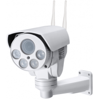Уличная поворотная 4G Wi-Fi IP камера c 5х (10x) зумом и звуком Millenium 433 PTZ