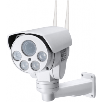 Уличная поворотная 4G Wi-Fi IP камера c 5х zoom и звуком Millenium 433G PTZ PRO