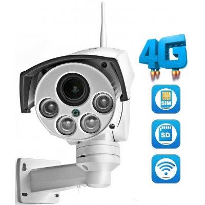 Уличная поворотная 3G 4G IP камера с 5x зумом Link-NC47G-8G