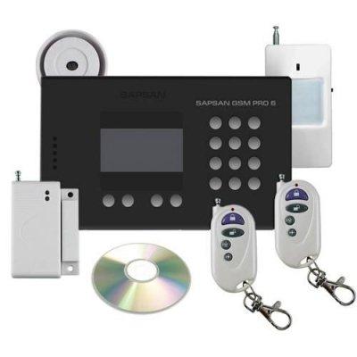 GSM сигнализация с датчиком температуры и дисплеем Sapsan GSM Pro 6