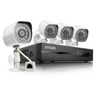 Цифровой IP POE комплект видеонаблюдения Zmodo IP 4CH 1080p