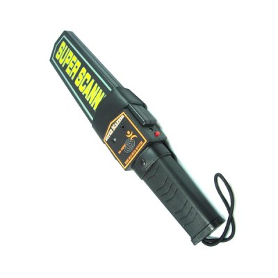 Ручной досмотровый металлодетектор с вибро индикацией Super Scanner
