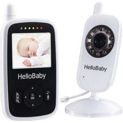 Цифровая видеоняня с двух сторонней связью и термометром HelloBaby HB24