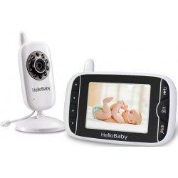 Цифровая видеоняня с термометром и датчиком плача HelloBaby HB32