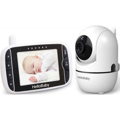 Цифровая видеоняня с управляемой камерой HelloBaby HB65