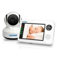 Видеоняня с поворотной камерой, датчиком температуры и звука Luvion Essential Plus