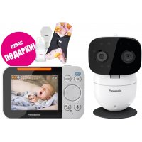 Цифровая видеоняня с поворотной камерой Panasonic KX-HN3001