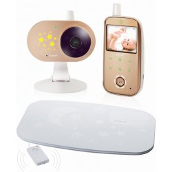 Цифровая компактная автономная видеоняня с монитором дыхания Ramili Baby RV1200SP