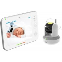 Цифровая видеоняня с управляемой камерой и большим  дисплеем Ramili Baby RV700