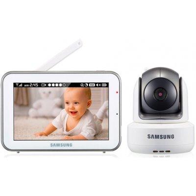 Цифровая HD видеоняня с управляемой камерой и двухсторонним аудио Samsung SEW-3043WP