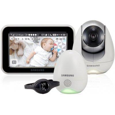 Видеоняня Samsung SEW-3057WP цифровая Wi-Fi с вибро-часами датчиком окружающей среды