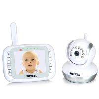 Цифровая видеоняня с управляемой камерой и датчиком температуры Switel BCF 985