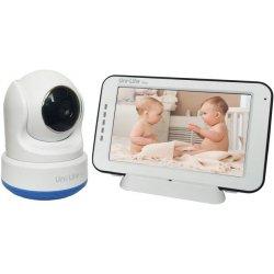 Видеоняня с поворотной камерой, датчиком температуры и звука Uni-Life DigiSmart 1060