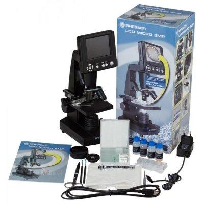 Цифровой микроскоп Bresser (Брессер) LCD 50x–2000x