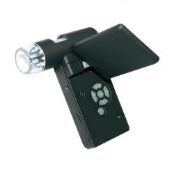 Портативный цифровой USB микроскоп с камерой 5 МП и дисплеем DigiMicro Mobile