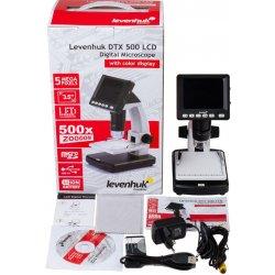 Цифровой usb микроскоп Levenhuk (Левенгук) DTX 500 LCD