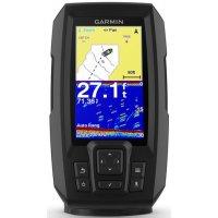 Эхолот для рыбалки с GPS и двухлучевым трансдьюсером Garmin STRIKER Plus 4