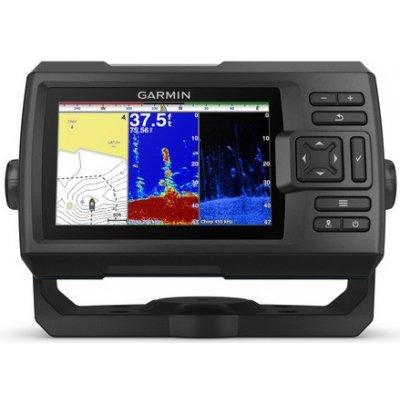 Эхолот для рыбалки с GPS и трансдьюсером Garmin STRIKER Plus 5cv