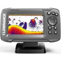 Эхолот с gps плоттером для рыбалки Lowrance HOOK2-4x GPS Bullet