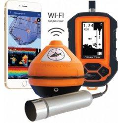 Беспроводной Wi-Fi эхолот для зимней и летней рыбалки Практик 7 BWF Универсал