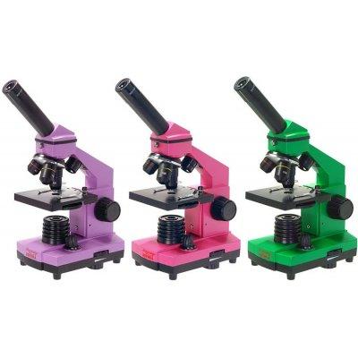 Школьный биологический микроскоп Эврика 40х-400х в кейсе