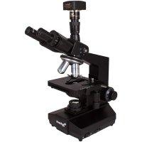 Цифровой usb микроскоп Levenhuk (Левенгук) D870T, 8 Мпикс, тринокулярный