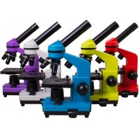 Биологический школьный микроскоп Levenhuk (Левенгук) Rainbow 2L