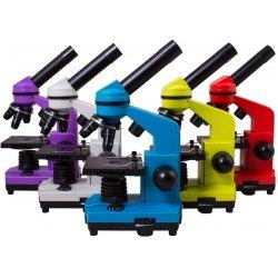 Биологический школьный световой микроскоп Levenhuk (Левенгук) Rainbow 2L