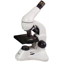 Цифровой биологический микроскоп Levenhuk (Левенгук) Rainbow D50L PLUS, 2 Мпикс, Moonstone\Лунный камень