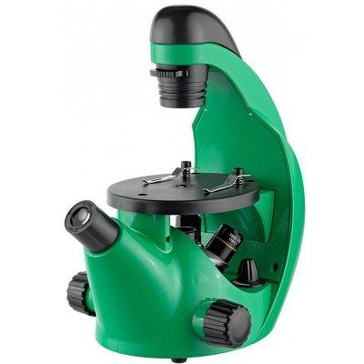 Школьный биологический микроскоп Эврика 40х-320х инвертированный